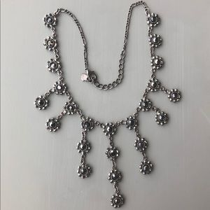 Black Bib Necklace